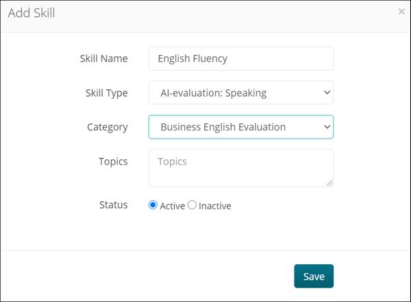 Add Skill- AI-evaluation