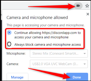 Webcam Permissions- Live Coding Interview