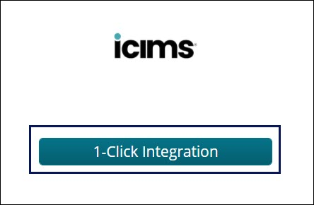 1-Click Integration with iCIMS
