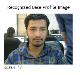 Recognize base profile Image - Image Proctoring Settings