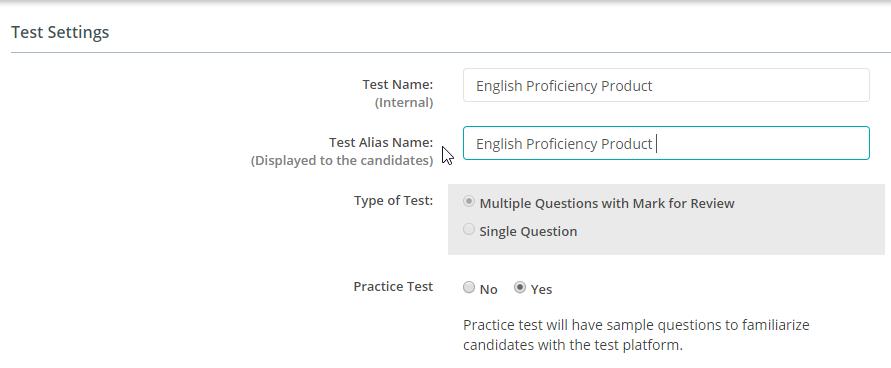 AI-EnglishPro settings