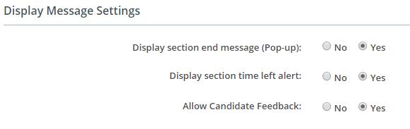 AI-EnglishPro Display Message Settings