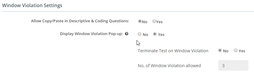 AI-EnglishPro Window Violation