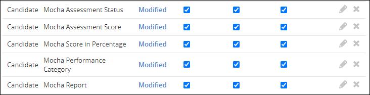 Custom fields - Candidates